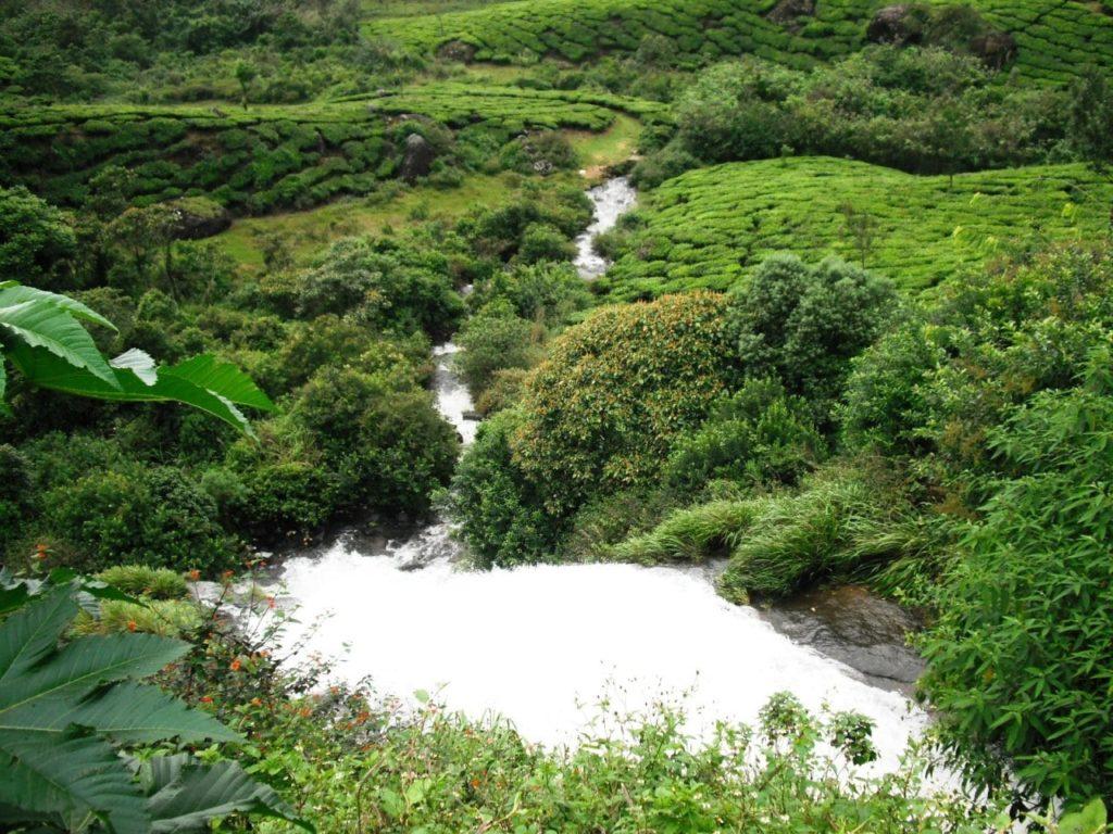 Chinnakanal Water Falls Munnar