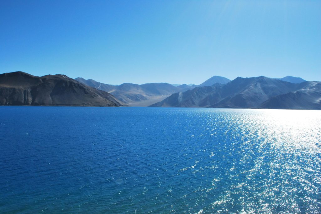 Shimmers on Ladakh Lakes