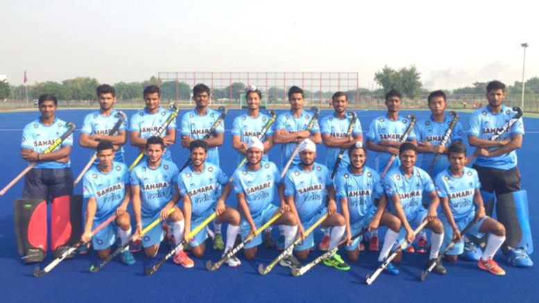 India Junior Hockey Team