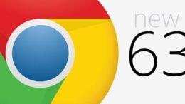 Chrome 63