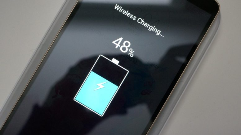Smartphone wireless charging