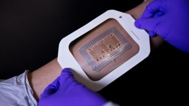 Electronic Skin to Display Body Vital Stats