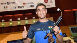 5 Shahzar Rizvi, the Indian shooter comes with a strong note winning a world record gold