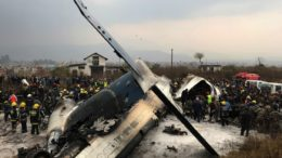 plane crashed at Nepal