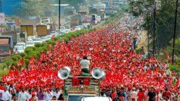 farmers protest mumbai
