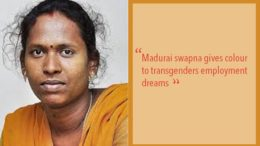 Madurai's Swapna gives colour to transgender's employment dreams