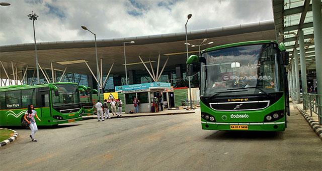 Bengalaru airport buses