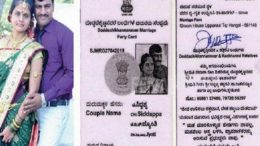 A Couple Gives An Innovative Twist To Their Wedding Invitation Card Resembling Voter ID