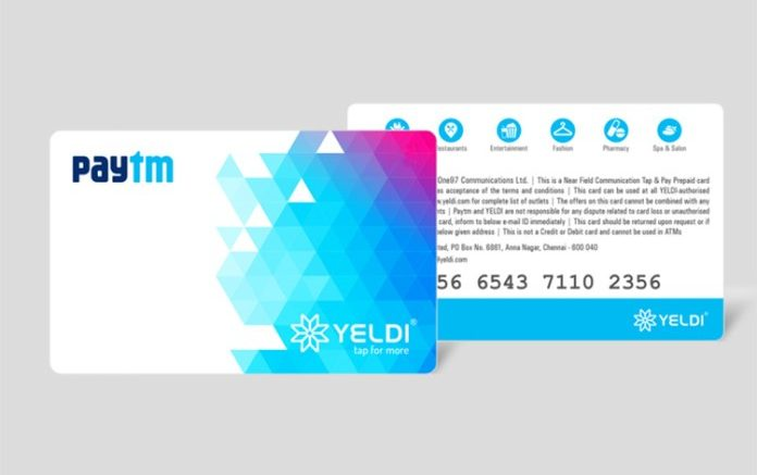 Paytm launches card, enabling users to use it offline