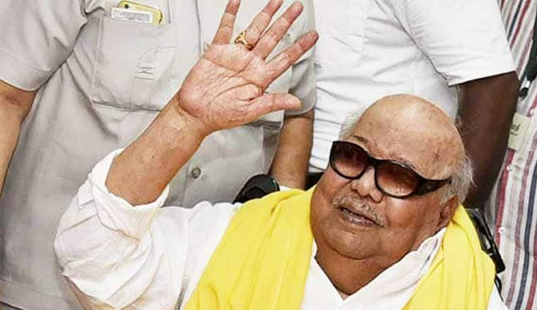 DMK-chief-M-Karunanidhi-continues-to-'remain-stable-in-ICU
