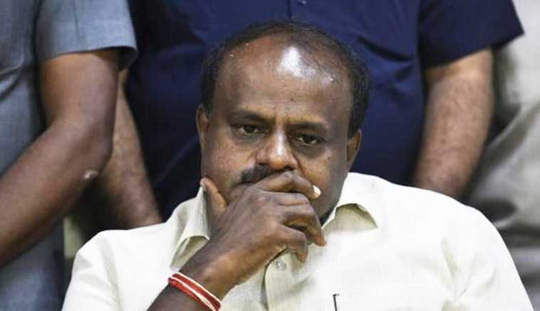 """KARNATAKA C.M. DUBBED AS """"THE LEGENDARY ACTOR"""" BY THE BJP, CALLS HIS OUTBURST A FARCE."""