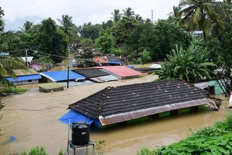 Rain Continues To Haunt Kerala, Red Alert Issued In Major Districts