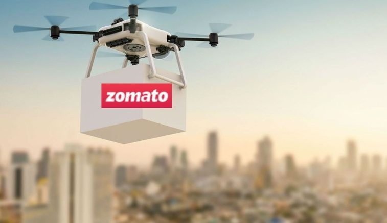 Zomato Tests Food Delivery Using Drones
