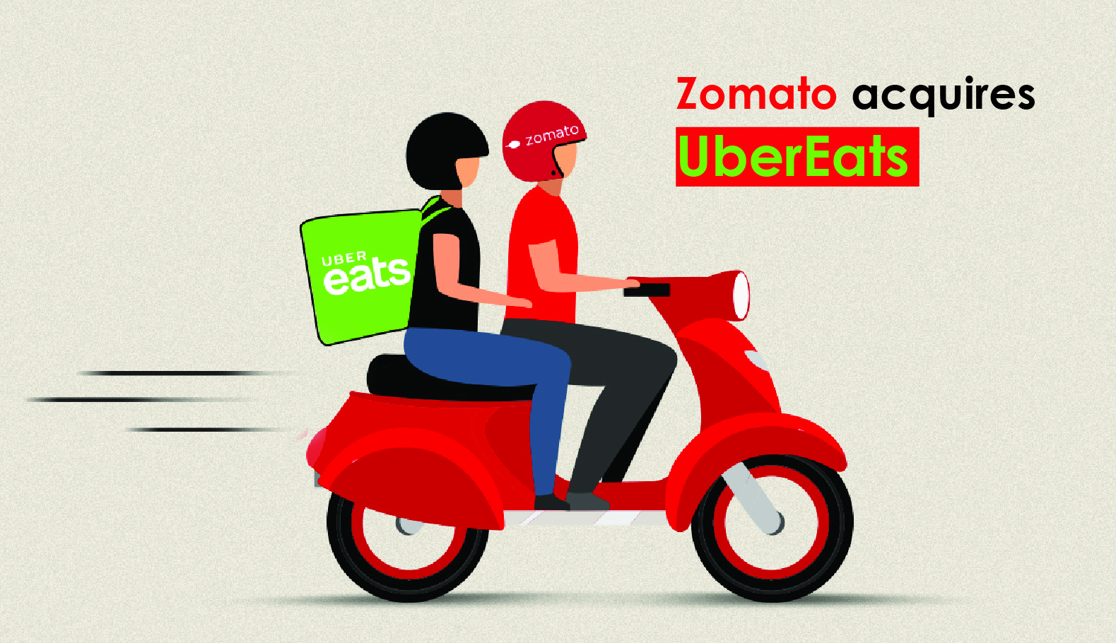 The Battle between Uber Eats and Zomato comes to an End